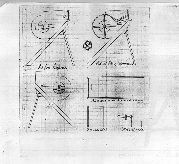 Niels Jensens rensemaskine 1830