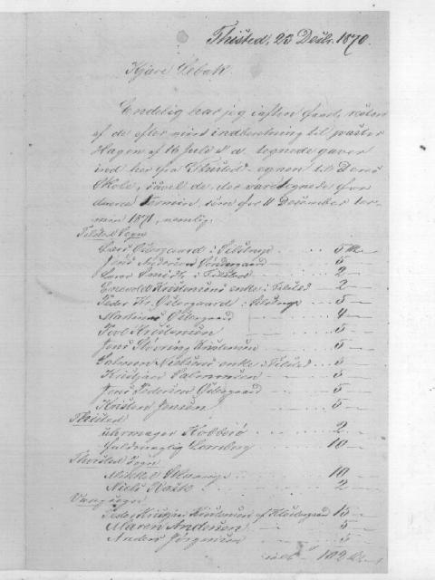 Gaver og lån til fortsættelse af Kolds skole (18)