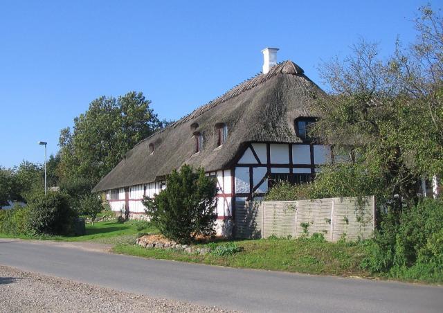 Hr. Oles påståede residens i Ollerup - Slotsgården i Nordgade