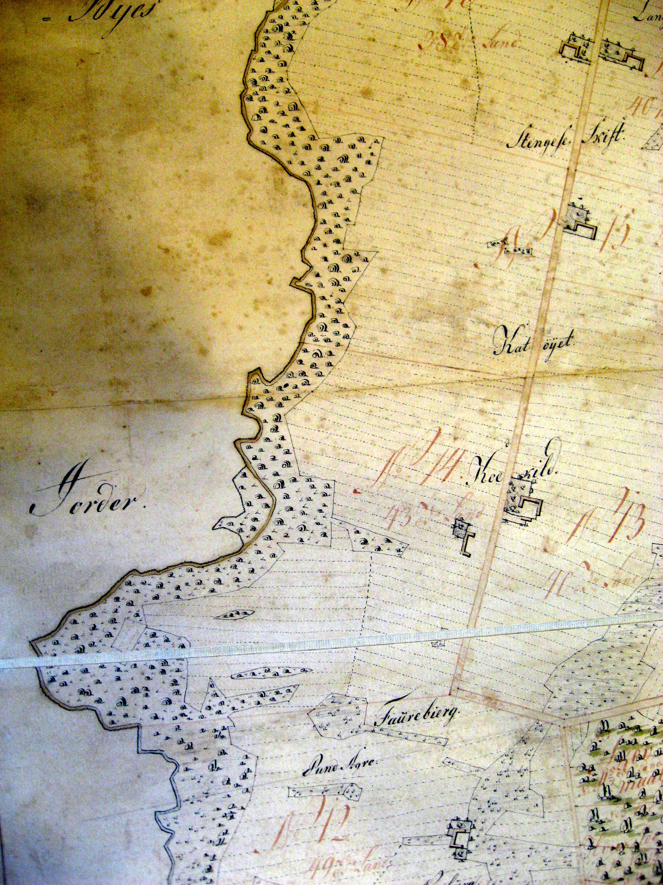 Åmarksvej i Øster Skerninge 1806