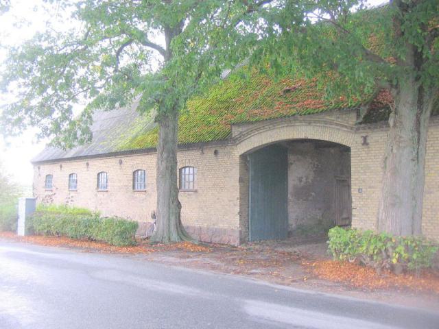 Sundsgård set fra Lundevej - Lunde sogn