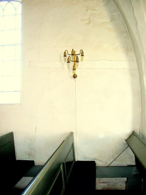 Tilmuret nord-dør - Kirkeby kirke