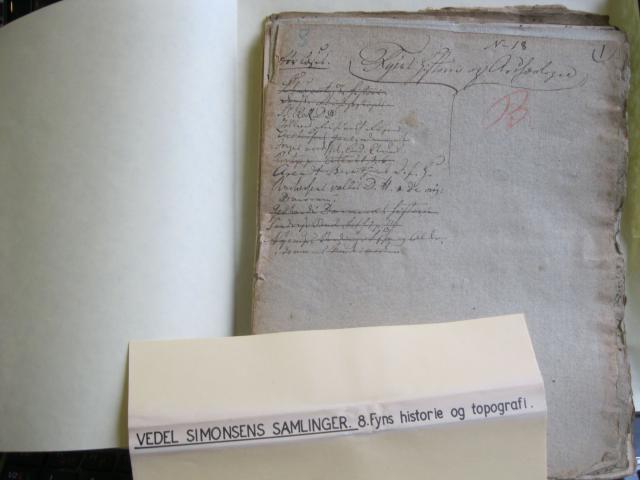 Vedel Simonsens Samlinger til Fyns Historie og Arkæologi