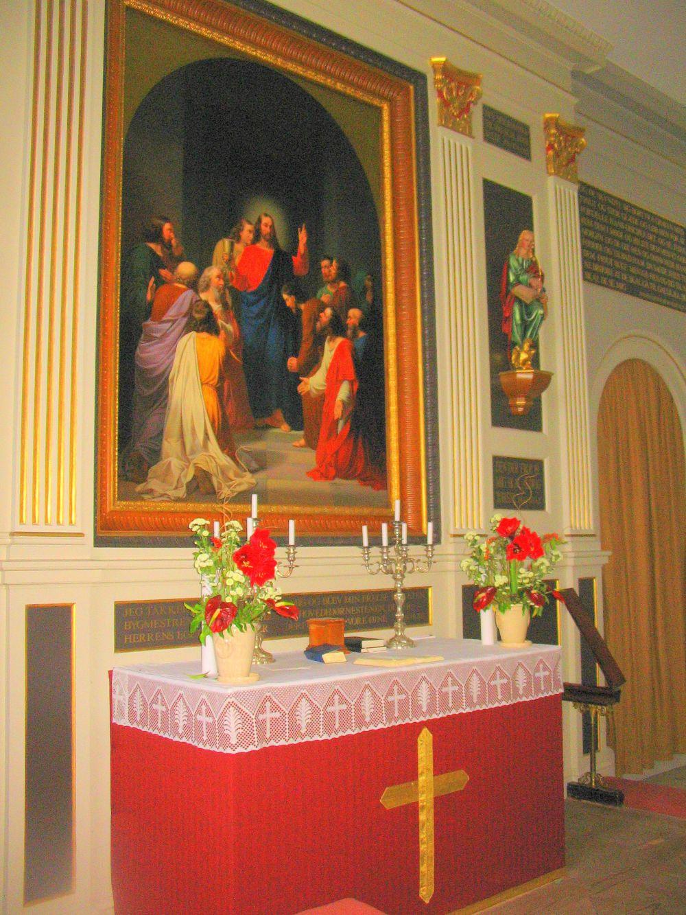 Alterbillede - Brahetrolleborg kirke