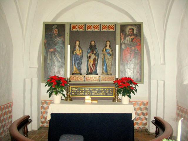 Alterparti - Brudager kirke