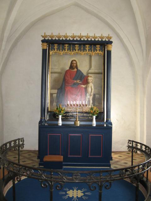 Altertavle Ulbølle kirke