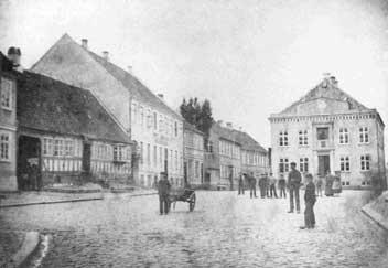 Torvet i Rudkøbing