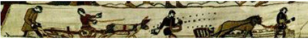 Bayeux tapetet udført mellem 1066 og 1077
