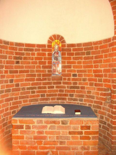 Skt. Birgitte alter i Svendborg Skt. Nicolai kirke