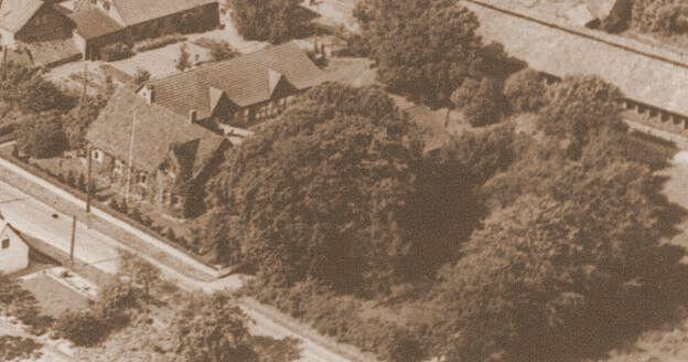 Buchgård på Egebjerg Hede - udflyttet fra Rårud ca 1784