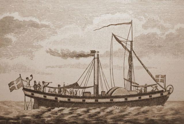 """Caledonia"" - Danmarks første dampskib"