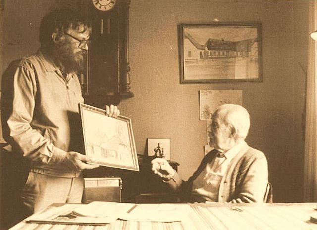 Chr. J. Madsen i samtale med Hans Nørgaard