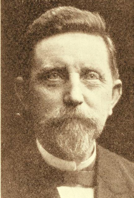 Forpagter og politiker Rasmus Christiansen (1840-1928)