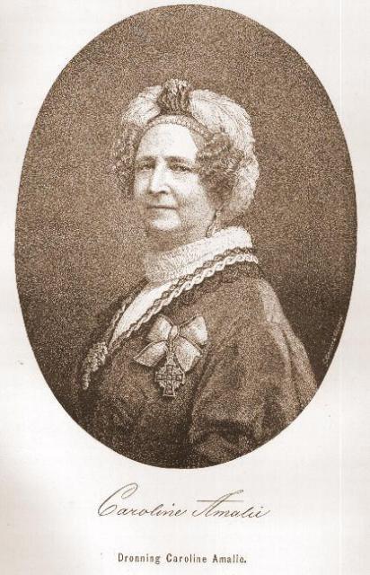 Dronning Caroline Amalie