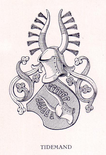 Coat of arms - Tidemand