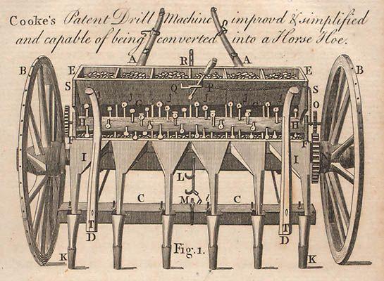 Cooke's patent såmaskine