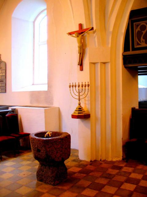 Døbefont Kværndrup kirke