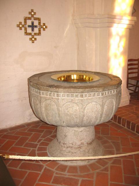 Døbefont Sankt Jørgens kirke