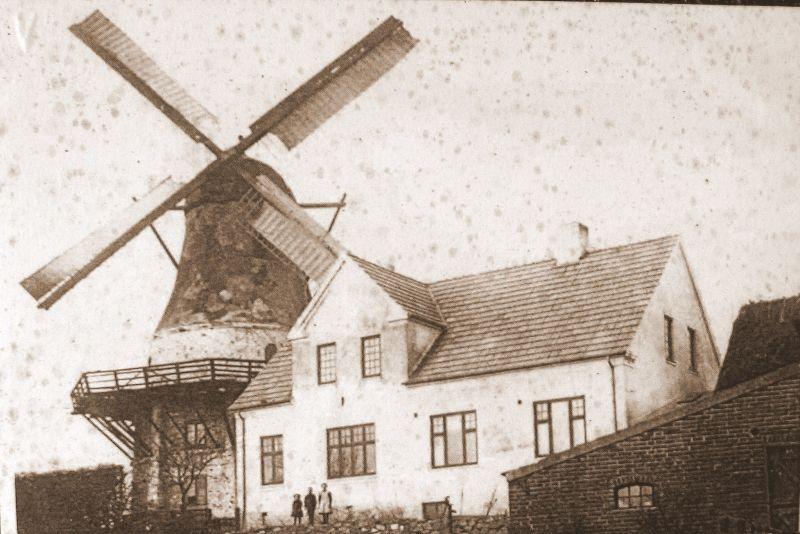 Egebjerg Mølle m. vinger