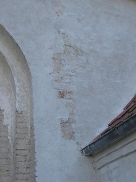 Fra restaureringen 2006 - Egense kirke