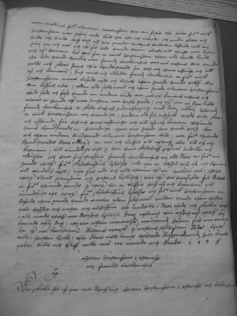 Søren Jørgensen i Egsmose og Frands Brockenhuus 1558