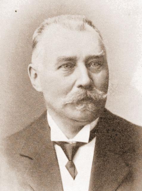 Købmand Ferdinand Jørgensen, R. af D., Svendborg