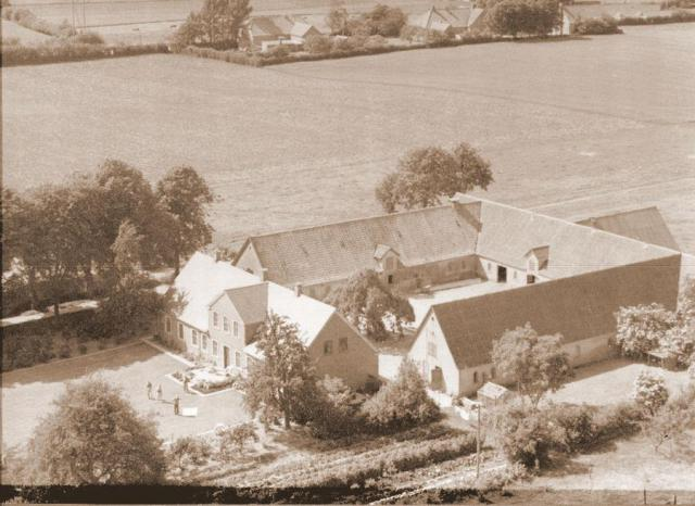 Fogedgård i Rårud by Kirkeby sogn