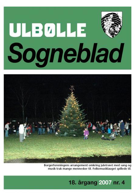 Ulbølle Sogneblad - forside
