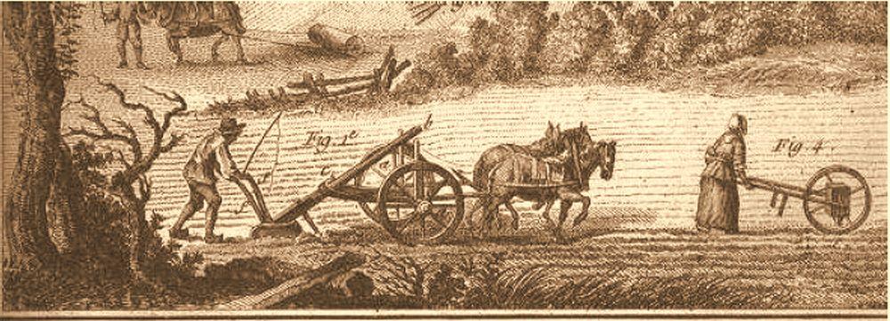 Bønder i arbejde 1750 (Frankrig)