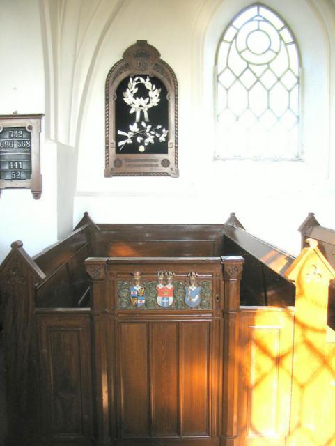 Greveloge - Egense kirke