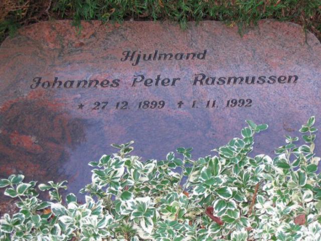 Hjulmand Johannes Peter Rasmussen Ollerup kirkegård