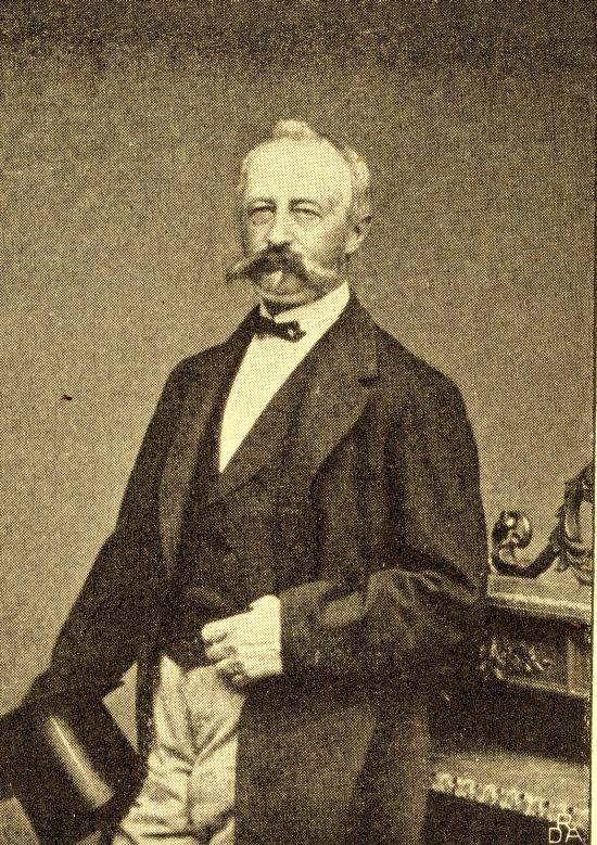 Politikeren Ludvig Holstein Holsteinborg