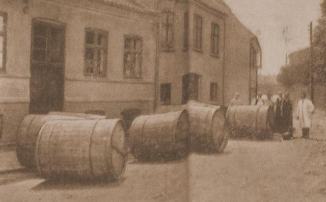 Halbergs tobaksfabrik i Hulgade i Svendborg