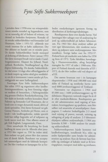 Sv. & Omegns landbf 1901-2001 - Fyns Stifts Sukkerroeeksport