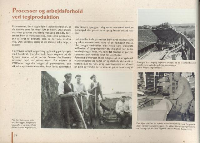 Processer og arbejdsforhold ved teglproduktion
