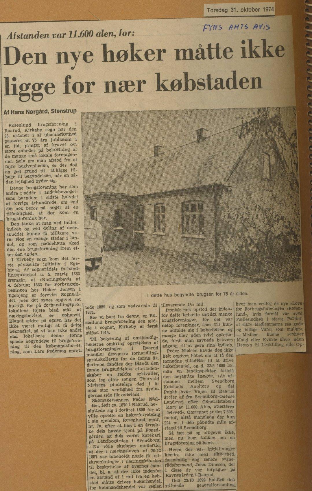 Rosenlund Brugsforening