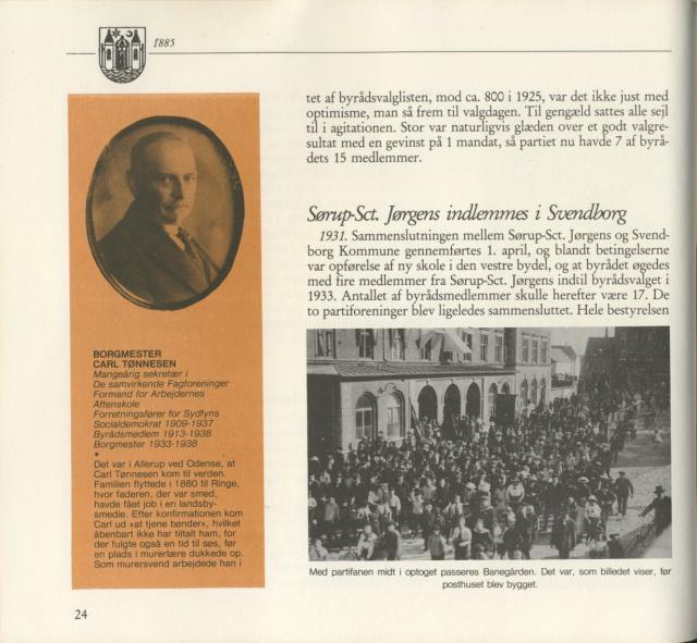 Svendborg Socialdemokratiske Forening - 1933-1985