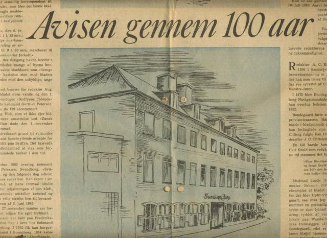Svendborg Avis 1863-1963 (3)