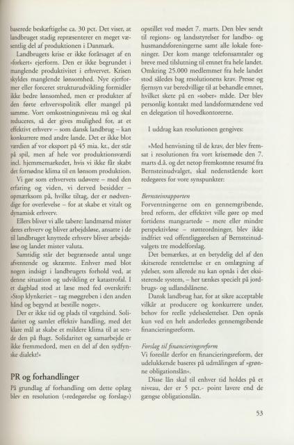 Sv. & Omegns landbf 1901-2001 - Det sydfynske bondeoprør (3)