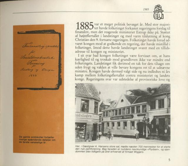 Svendborg Socialdemokratiske Forening - 1885-1900