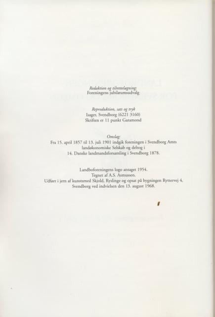 Sv. & Omegns landbf 1901-2001