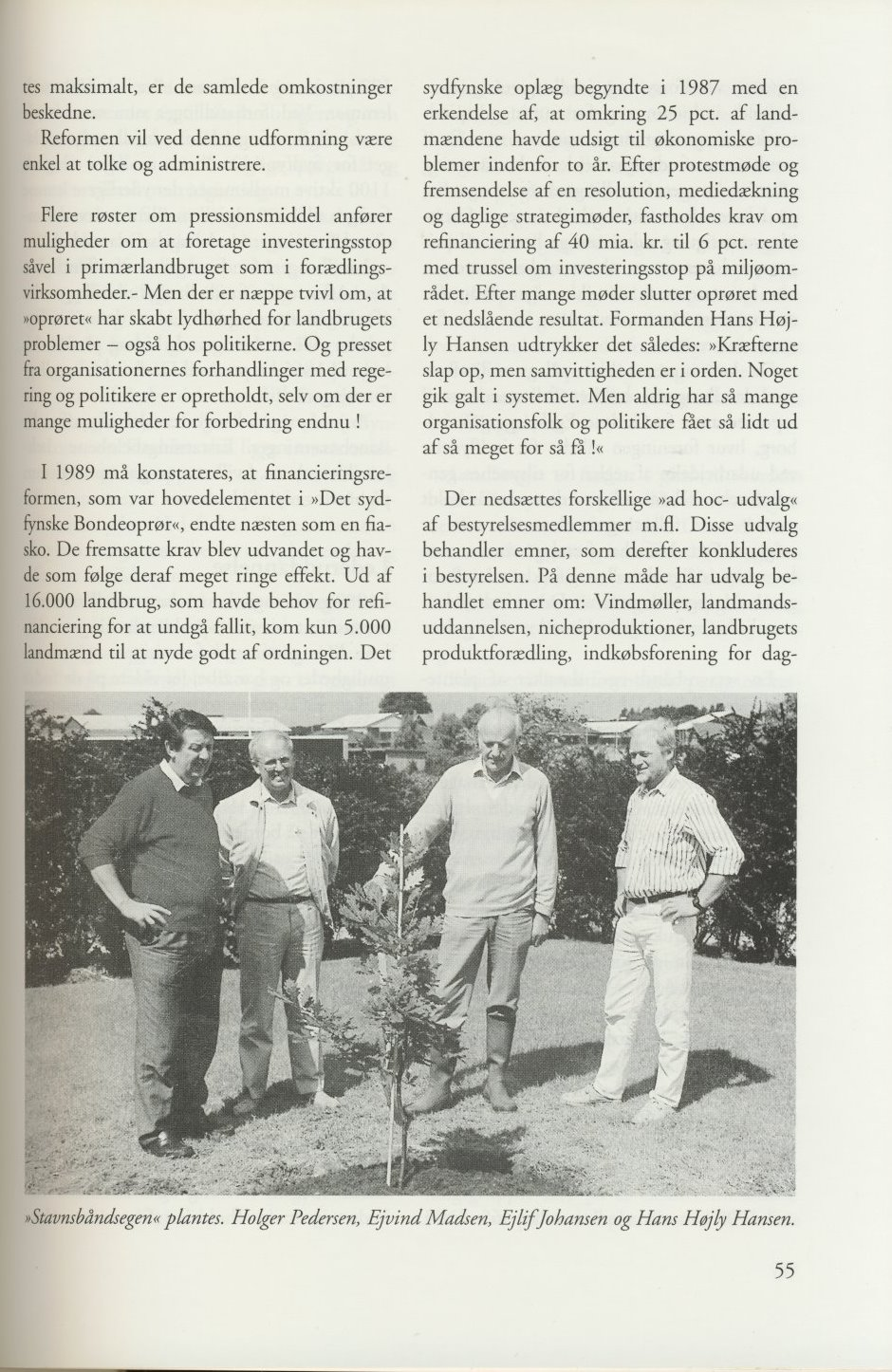 Sv. & Omegns landbf 1901-2001 - Det sydfynske bondeoprør (5)