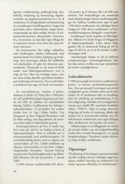 Sv. & Omegns landbf 1901-2001 - Det sydfynske bondeoprør (6)