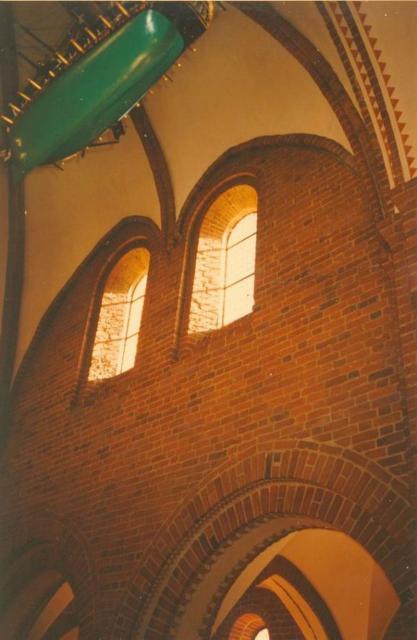 Romanske vinduer i sydsiden, Sankt Nicolaj Kirke, Svendborg