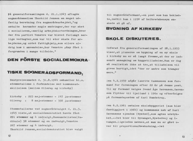 Kirkeby & Omegns Socialdemokratiske Forening 1909-1984 (7)