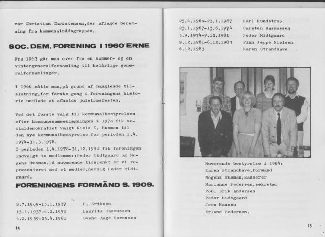 Sv. & Omegns landbf 1901-2001 - Det sydfynske bondeoprør (8)