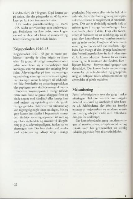 Sv. & Omegns landbf 1901-2001 - Perioden 1939-60 (2)