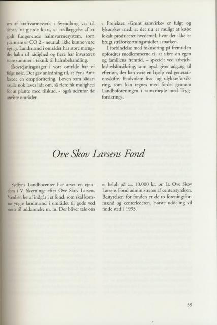 Sv. & Omegns landbf 1901-2001 - Det sydfynske bondeoprør (9)