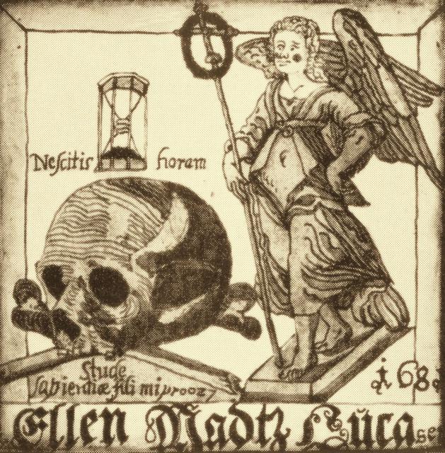 Ellen, Mads Lucassen Friis' våben 1681