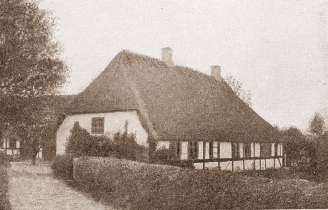 Grønvald Nielsens barndomshjem på Egebjerg Bakker